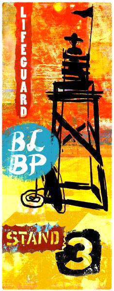 Long Beach Island Lifeguards, Art Series, BLBP, Barnegat ...